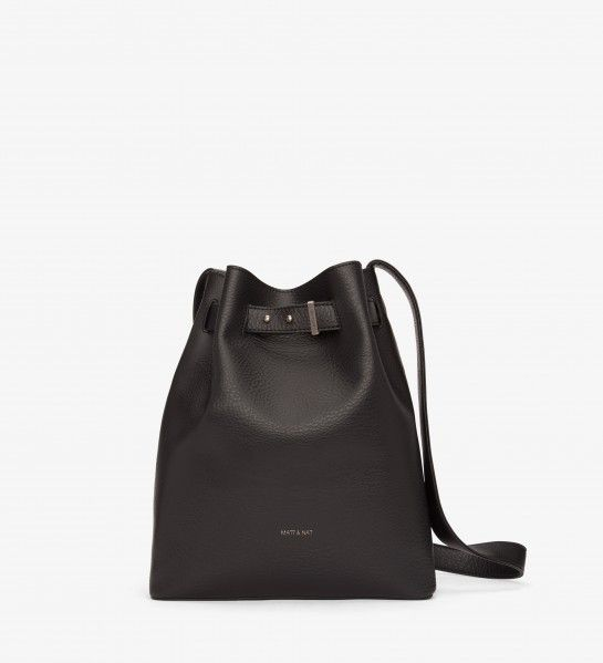 Matt & Nat Matt + Nat - Bucket Bag w/ Pin Strap Closure  'Lexi'