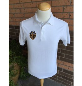 Elderwear Polo Short Sleeve White Adult-discontinued