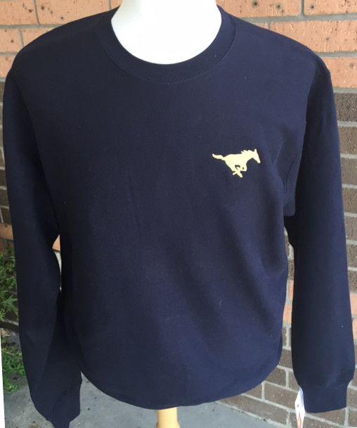 MV Sport Navy Crew Sweatshirt-Adult