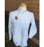 Elderwear Men's Long-Sleeve Oxford White