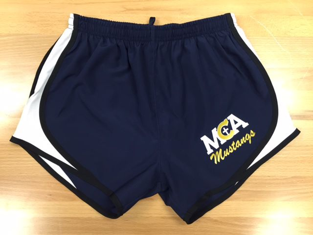 Boxercraft MCA Nike Style Shorts-Youth Navy