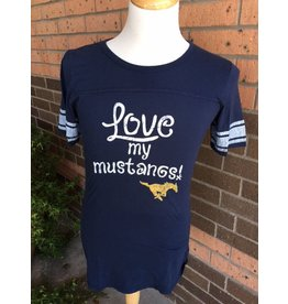 "Blue84 ""Love My Mustangs"" T-shirt"