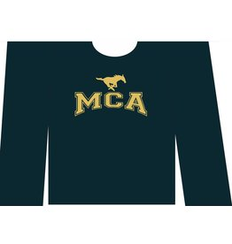 Hanes NEW Youth MCA Long-Sleeve COTTON T-Shirt