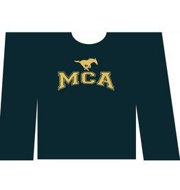 Hanes NEW Adult MCA Long-Sleeve COTTON T-Shirt