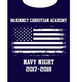 Gildan Navy Night Shirt-2017
