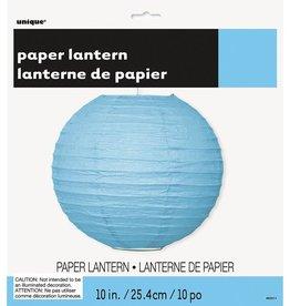 """Unique LANTERNE DE PAPIER BLEUE 10"""""""