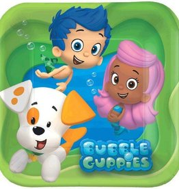 Amscan ASSIETTES 7PO BUBBLE GUPPIES (8)