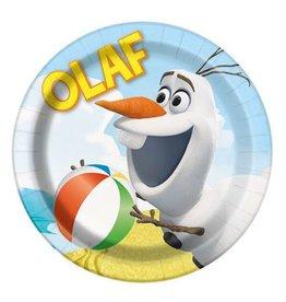 Unique ASSIETTES 7'' OLAF A LA PLAGE (8)