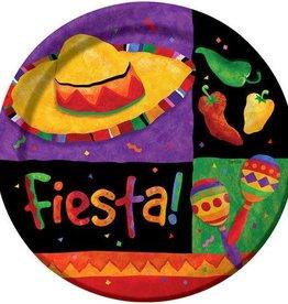 Creative Converting ASSIETTES 9'' FIESTA (8)