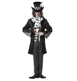 California Costumes COSTUME ADULTE CHAPELIER FOU SOMBRE