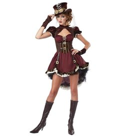 California Costumes COSTUME ADULTE DAME STEAMPUNK