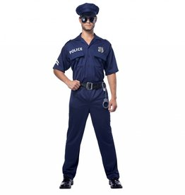 California Costumes *COSTUME ADULTE POLICIER