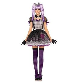 "Leg Avenue COSTUME ADULTE POUPÉE ""DEAD EYE"""