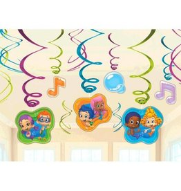Amscan DECORATIONS A SUSPENDRE BUBBLE GUPPIES