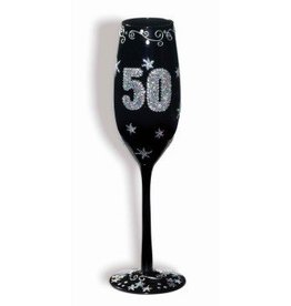 Forum Novelty FLUTE A CHAMPAGNE 50 ANS