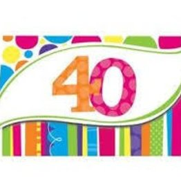 Creative Converting INVITATIONS 40 ANS (8)