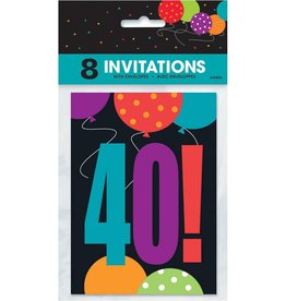 Unique INVITATIONS 40 ANS (8)