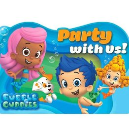 Amscan INVITATIONS - BUBBLE GUPPIES (8)