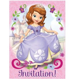 Unique INVITATIONS DISNEY SOFIA (8)