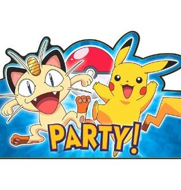 Amscan INVITATIONS - POKEMON (8)