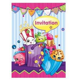 Unique INVITATIONS (8) - SHOPKINS