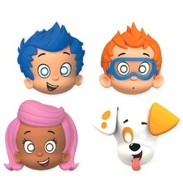 Amscan MASQUES BUBBLE GUPPIES (8)