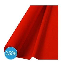 Amscan ROULEAU DE NAPPE DE PLASTIQUE JUMBO 250PI - ROUGE