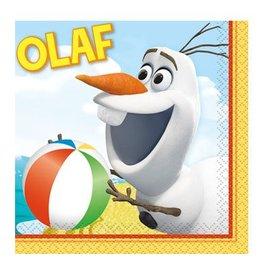 Unique SERVIETTES COCKTAIL OLAF A LA PLAGE (16)