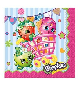Unique SERVIETTES À COCKTAIL - SHOPKINS (16)