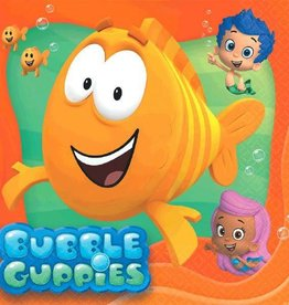 Amscan SERVIETTES DE TABLE BUBBLE GUPPIES (16)