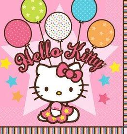 Amscan SERVIETTES DE TABLE HELLO KITTY (16)