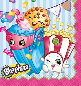 Unique SERVIETTES DE TABLE - SHOPKINS (16)