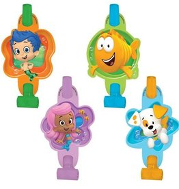 Amscan SOUFFLETS  BUBBLE GUPPIES (8)