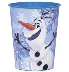 Unique VERRE DE PLASTIQUE 16OZ OLAF