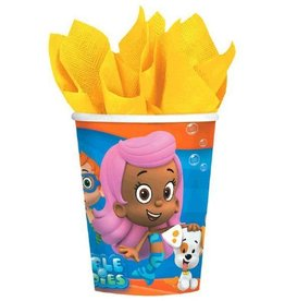 Amscan VERRES 9OZ BUBBLE GUPPIES (8)