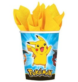 Amscan VERRES 9OZ - POKEMON (8)