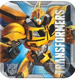 Amscan ASSIETTES 7'' TRANSFORMERS (8)