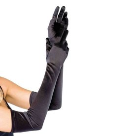 Leg Avenue GANTS DE SATIN EXTRA LONG