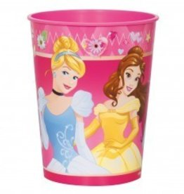 Unique VERRE DE PLASTIQUE 16OZ PRINCESSES DISNEY EN REVE