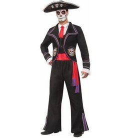 "Forum Novelty COSTUME ADULTE MACABRE ""JOUR DES MORTS"""