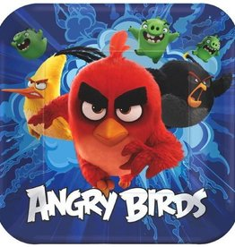 Amscan ASSIETTES 9'' ANGRY BIRDS LE FILM (8)
