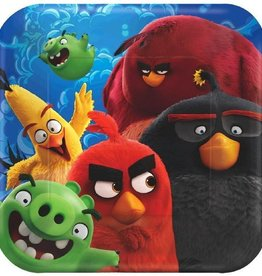 Amscan ASSIETTES 7'' ANGRY BIRDS LE FILM (8)