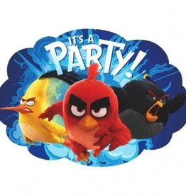 Amscan INVITATIONS - ANGRY BIRDS LE FILM (8)