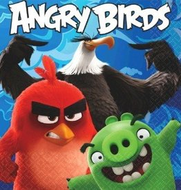 Amscan SERVIETTES DE TABLE - ANGRY BIRDS LE FILM (16)