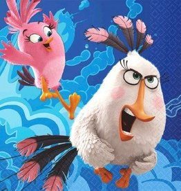 Amscan SERVIETTES COCKTAIL ANGRY BIRDS LE FILM (16)