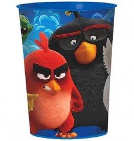 Amscan VERRE DE PLASTIQUE 16OZ ANGRY BIRDS LE FILM