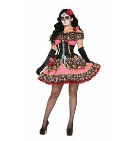 Forum Novelty COSTUME SENORITA -JOUR DES MORTS-