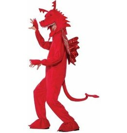 Forum Novelty COSTUME ADULTE DRAGON ROUGE STD