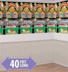 Amscan DECORATION MURALE MACHINES A SOUS (4'x 40')