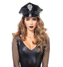 Leg Avenue CHAPEAU DE POLICE EN VINYLE